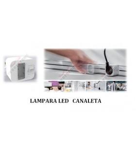 Lampara Led Canaleta deslizable. ängel.
