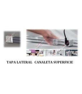 Tapas laterales Canaleta deslizable. ängel.