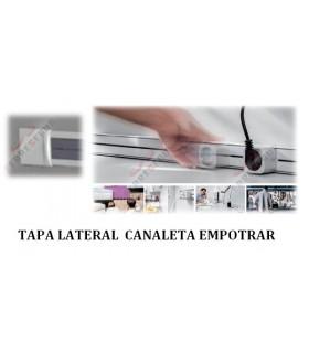 Tapas laterales empotrar Canaleta deslizable. ängel.