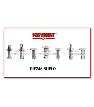 Piezas suelo cerraduras puertas metálicas  de Keymat