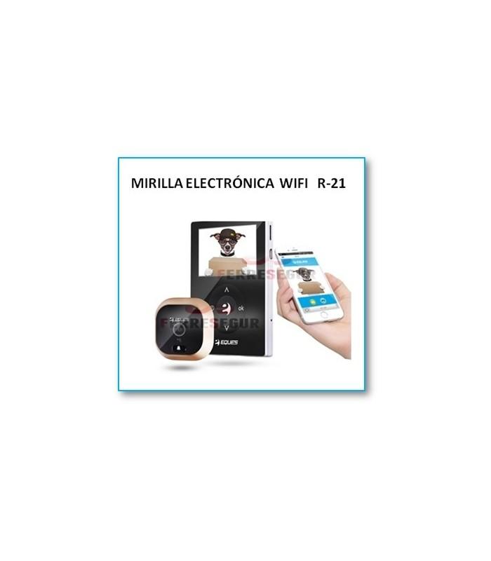 Mirilla digital Wi-Fi con sensor R21