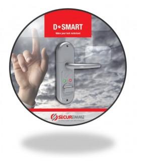 D*Smart, Dispositivo automatizacion cerradura universal a bateria, Securemme