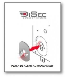 Placa interna de acero manganeso , Disec