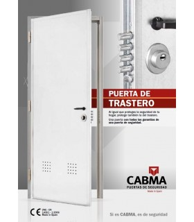 Puerta alta seguridad para trasteros