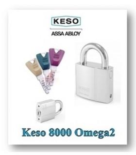 Candado Keso 8000Ω alta seguridad universal con cilindro