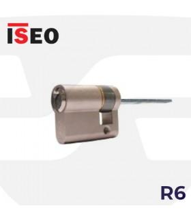 Cilindro R6 CON LENGUETA para antipánico., ISEO