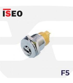 Cilindro F5 ROSCADO M25 con microinterruptor, ISEO