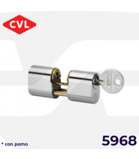 CILINDRO PERFIL OVALADO 5968 con pomo, CVL