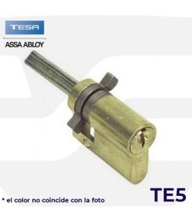 CILINDRO TE 5  para cerradura de pomo, niquelado, TESA
