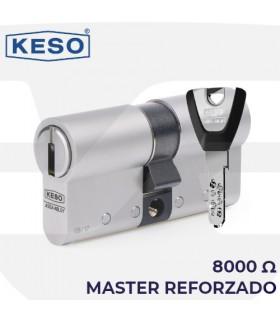 8000Ω2 Master Reforzado, KESO. Cilindro Alta Seguridad