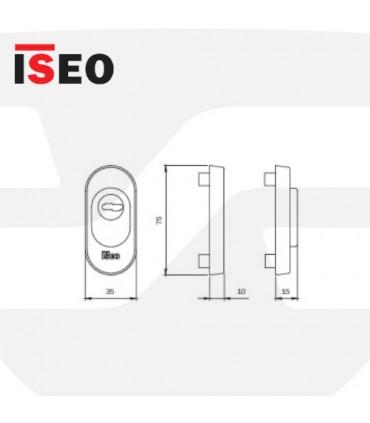 Escudo protector seguridad MULTIBLINDO 040809, ISEO