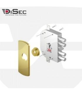 Escudo abocardado de alta seguridad cerradura sobreponer, LG41 Disec