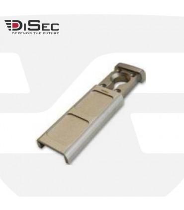 Escudo protector magnetico perfil estrecho, sin tornilleria pasante MG 30, Disec