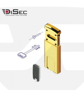 Escudo protector magnético cerradura gorja, MG220, Disec