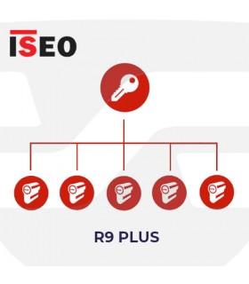 Amaestramiento  cilindros ISEO, R9PLus