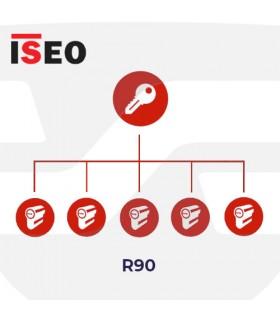 Amaestramiento  cilindros ISEO, R90