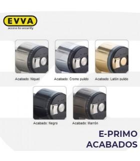 Acabados cilindros electrónicos  e-primo, EVVA