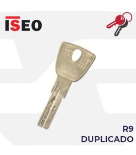 Llave copia de Cilindro R9 Plus, ISEO