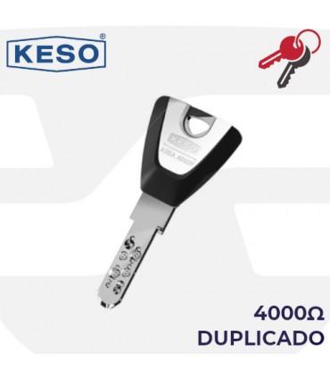Llave copia de Cilindro 4000Ω, KESO