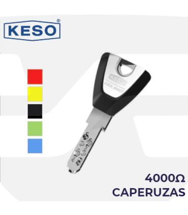 Caperuza color llave Cilindro 4000Ω, KESO