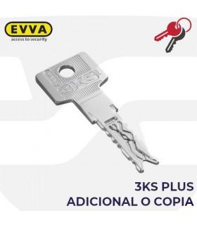 Llave copia o adicional del Cilindro 3KSplus, EVVA