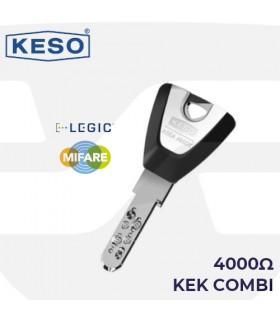 Llave KEK combi 4000Ω, KESO