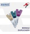 Llave copia de Cilindro 8000 Ω2, KESO