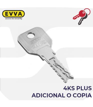 Llave copia o adicional del Cilindro 4KSplus, EVVA
