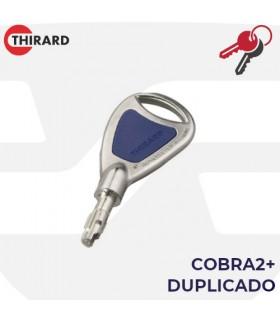 Llave copia Cilindro Cobra 2+. Thirard