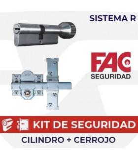 CONJUNTO DE SEGURIDAD CLÓNICOS SISTEMA R, FAC SEGURIDAD,