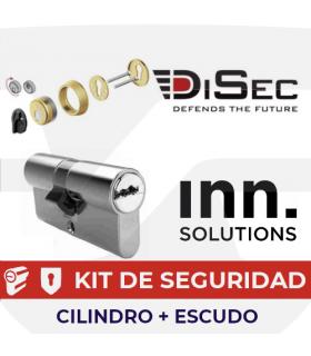 Kit Cilindro alta seguridad Inn Key Smart, Vds Bz+ con escudo magnético, INN Disec