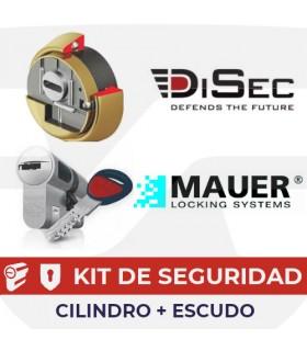 Kit cilindro Alta Seguridad NW5 + Kripton . Mauer, Discec.