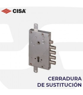 Cerradura sustitución en puertas acorazadas de perfil europeo, CISA