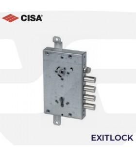 Cerradura EXITTLOCK para puertas acorazadas con anti panico de perfil europeo, CISA