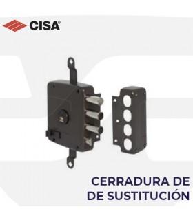 Cerradura  sobreponer sustitución en puertas acorazadas de perfil europeo, CISA