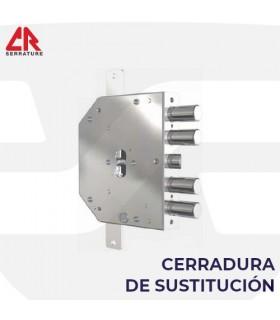 CERRADURA SUSTITUCION PUERTA ACORAZADA DE LLAVE DE BORJAS  A PERFIL EUROPEO 2151, CR
