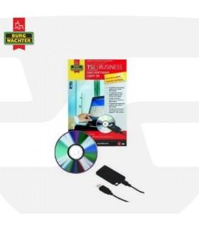 Software de gestión cilindros digitales TSE Busines, Burg Wachter
