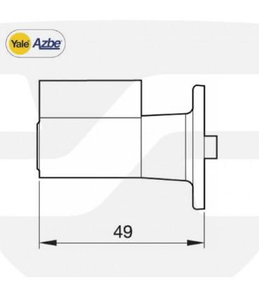 Cilindro reposición cerraduras 56, 16, 5 de Azbe
