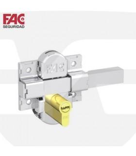 Cerrojo seguridad 311L, adaptable a cilindro perfil europeo, FAC SEGURIDAD