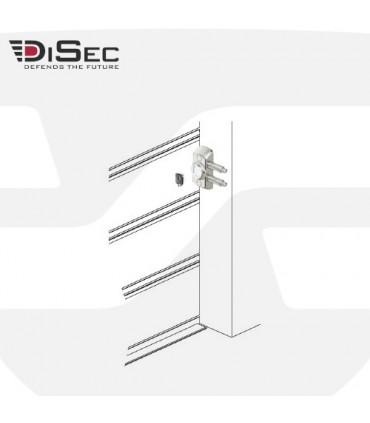 Cerradura bloqueo magnética puertas enrollables de persiana, MG710 Disec