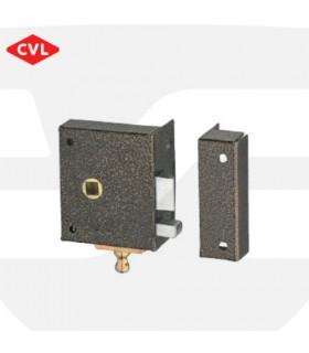 Picaporte reversible de sobreponer con condena, Serie 236, CVL