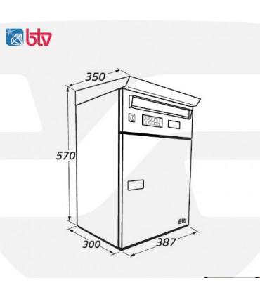 Buzón iPackBox BTV