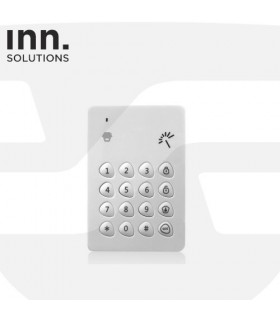 Teclado inalámbrico + lector de chip electrónico, Inn Solutions