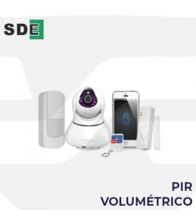 PIR Volumétrico de Alarma. SDE