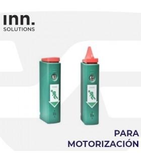 Dispositivo disuasorio para motorización  puertas emergencia ,EXIT-control. Inn Solutions