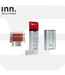 Protección antivandálica lampara flash ,EXIT-DAYAlarm. Inn Solutions