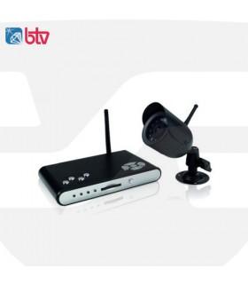 Grabador DVR de 1 canal + 1 cámara, BTV