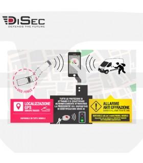 Localizador GSM para vehiculos, Disec