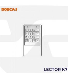 Teclado control usuarios K-72 , DORCAS