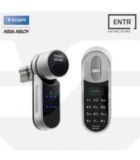 Kit Control de acceso autoprogramable ENTR con teclado biométrico,Tesa Assa Abloy
